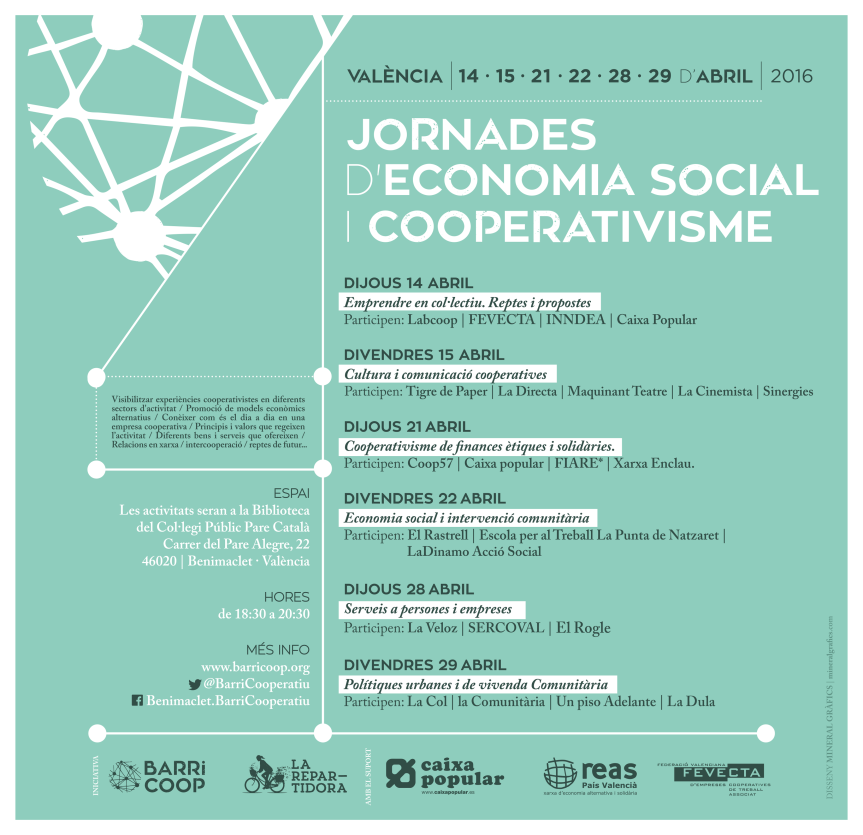 Comencen les Jornades d'Economia Social iCooperativa